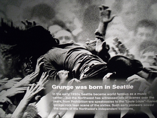 Grunge: One of Seattle's Signature Sounds, Photo by Flickr User Sands