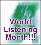 World Listening Month on Sounding Out!