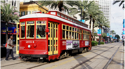 The Canal Street Line. Borrowed from Hmeriomx on Flickr.