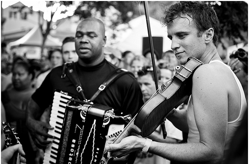 Lost Bayou Ramblers. Borrowed from phillipleroyer on Flickr.