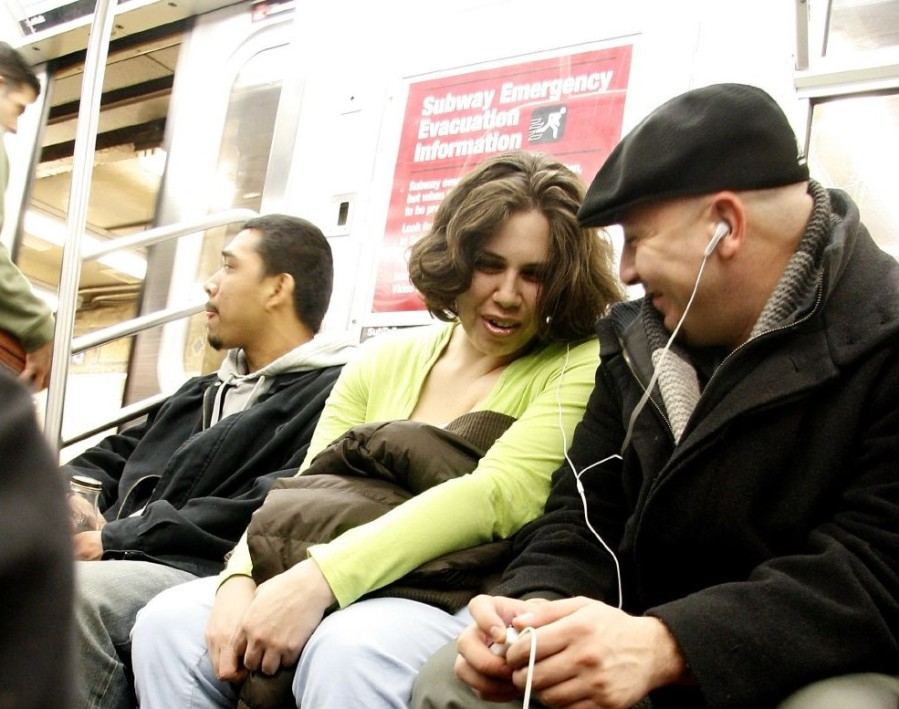 The promiscuity of the mp3. Borrowed from NYCArthur on Flickr.