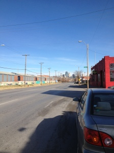 View of Kansas City Midtown Skyline from Southwest Boulevard by Liana Silva.