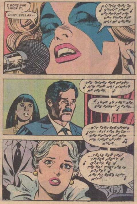 from Dazzler #21 (Nov 1982). By Fingeroth & Springer