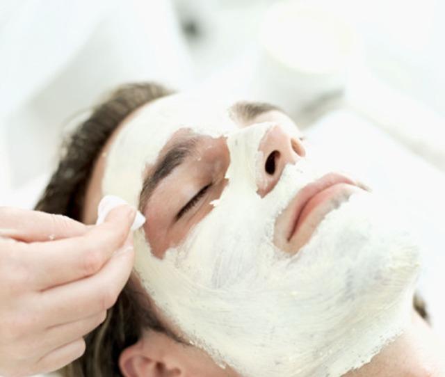 A Man Getting A Facial Borrowed From Foundryparkinn Flickr