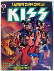 Trying to reproduce the popularity of KISS-themed comics: Marvel Super Special #5 ( 1978)