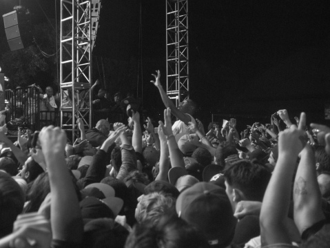 Tyler, the Creator crowdsurfing, image by flicker user choe.brandon