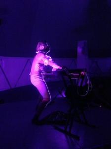 Geo Wyeth performs, image courtesy of @momaps1