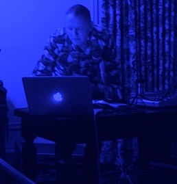Marcus Boon DJ-ing image by JSA
