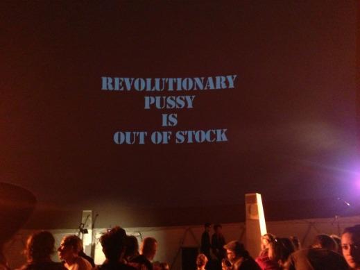 revolutionary pussy