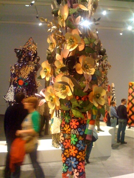 "Chicago-based artist Nick Cave's ""sound suits,"" Image by Flickr User Jeremy Zilar"