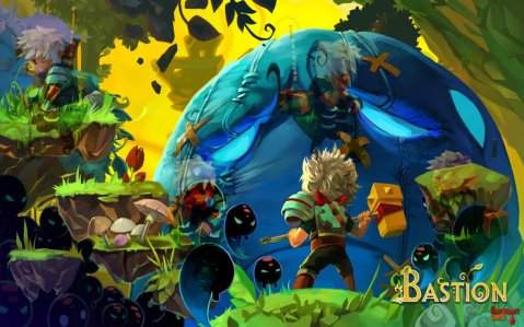 The world of bastion is beautifully illustrated and affectively evocative. Image borrowed from darkzabimaru @DeviantArt.