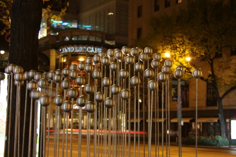 Sound Art Installation in Downtown Chicago, Image by Flickr user meironke