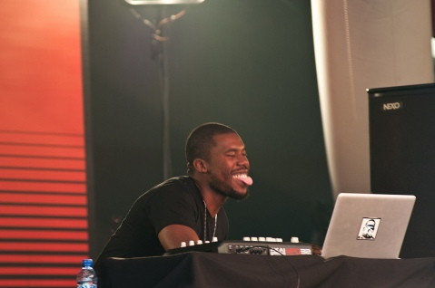 Flying Lotus,@ SonarDome, Sonar 2012, Image by Flickr user Boolker