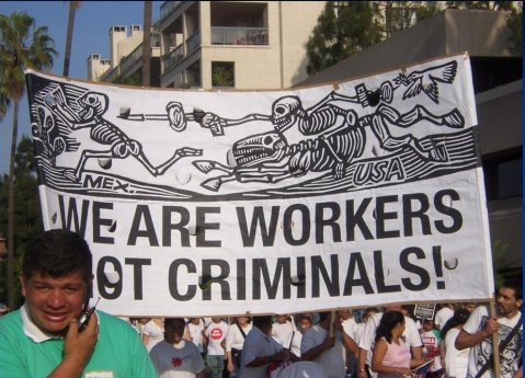 The May 1, 2006 protest in Los Angeles, Image by Flickr user The Korean Resource Center 민족학교
