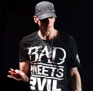 """Eminem, Lil Wayne Named 'Gods Of Rock' By GQ"" by Flickr usermp3waxx.com, CC-BY-NC-SA-2.0"