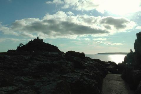 Photo by the author, Saint Michael's Mound, Marazion, Cornwall