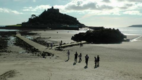 Photo by the author, Saint Michael's Mound, Marazion, Cornwall