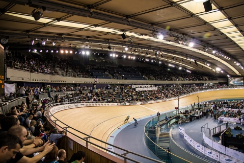 Olympic Velodrome Image courtesy of Flickr User adambowie
