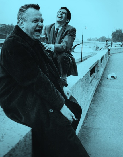 welles laughing