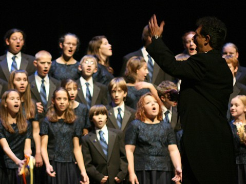 Indianapolis Children's Choir, 2007, Image by the Indiana Public Media