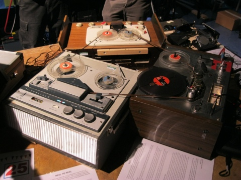 Big Tape Loops, Image by Flickr User  choffee