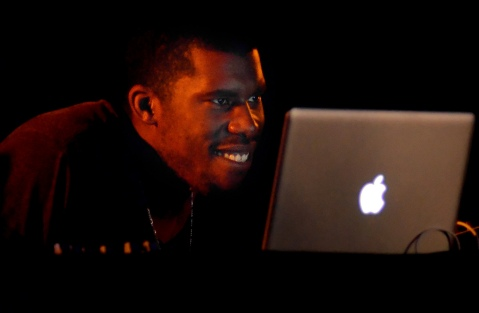 Flying Lotus and his Computer, Image by Flickr User  jaswooduk