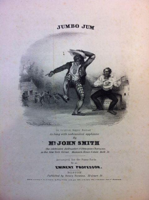 """Jumbo Jim,"" Courtesy of the Newberry Library, Chicago. J.F. Driscoll Collection of American Sheet Music, Box 307a."