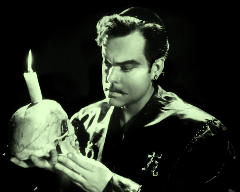 Orson Welles as Cagliostro in Black Magic (1949)