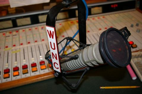 Chapel Hill's finest, WUNC, image by Flickr user Keith Weston