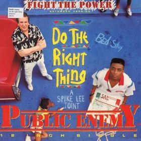 """Fight the Power"" single cover, by fair use under US copyright law"