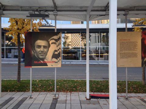 Gilles Vigneault exhibit