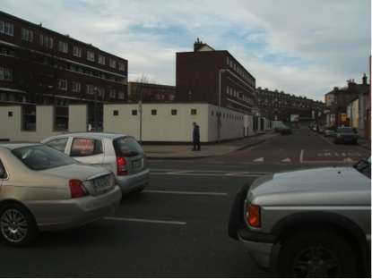 Public housing areas surrounding Smithfield
