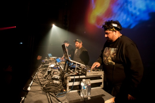 """""""A Tribe Called Red – Hall 4 (1)"""" by Flickr user Trans Musicales, CC BY-NC 2.0"""