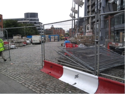 Smithfield Square by the summer of 2010