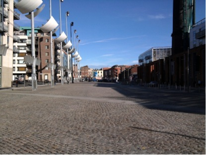 The Smithfield square in 2009. All pictures in this post come courtesy of the author, who holds the rights.