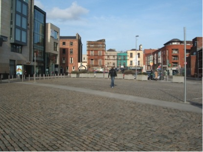 The Smithfield square in 2009, Image by Linda O'Keeffe