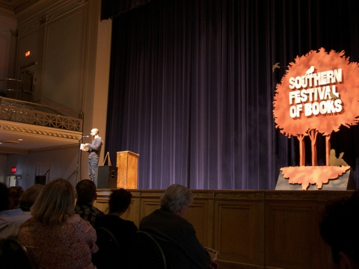 """Junot Diaz at the Southern Festival of Books"" by Flickr user Stacey Kizer, CC BY-NC 2.0"