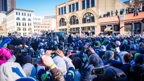 """Seahawks Parade"" by Flickr user Michael Brunk, CC BY-NC-ND 2.0"