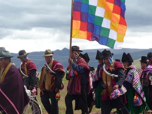 Aymara March Wiphala