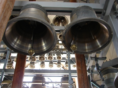 """Carillon of Peter And Paul Cathedral in Saint-Petersburg"" by Wikimedia user RuED, CC BY-SA 3.0"