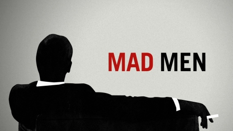 Mad Men Logo. Used under the auspices of fair use for identification and critical commentary.