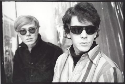 Lou Reed and Andy Warhol as the respective definers of audible  and visual cool for misfits and undergroundlings for the last five decades.
