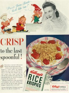 """WWII Food Ad, Kellogg's Rice Krispies Cereal..."" by Flickr user Classic Film, CC BY-NC 2.0"