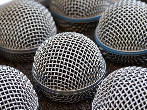 """Rock Series - Microphones"" by Flickr user Stefano Tambalo, CC BY 2.0"
