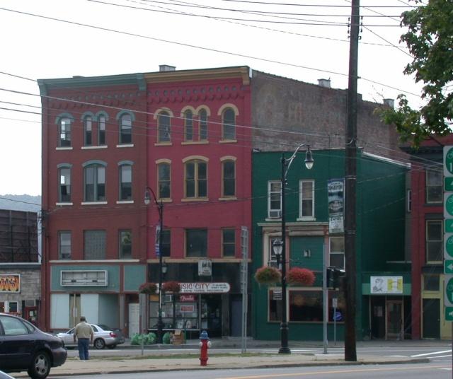 Corner of Front and Main Street, Binghamton, NY