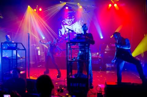 KMFDM, 1 October 2009, Image by Flickr User Axel Taferner
