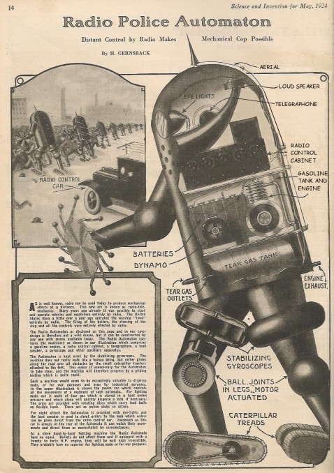 """Radio Police Automation 1924,"" by Robert Wade, CC BY-NC-SA."