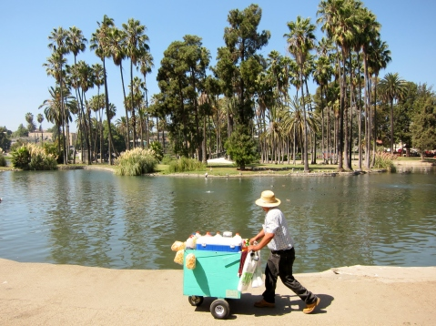 """Echo Park September 2010"" by Flickr user Calvin Fleming"