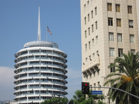 """Capitol Records Building"" by Flickr user Wieland Van Dijk, CC BY-ND-SA 2.0"