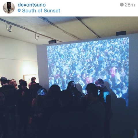Opening of Ourboros, South of Sunset, 11/12/14, Image by Devon Tsuno
